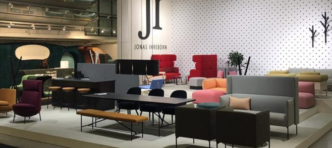 Jonas Ihreborne Contract en la Stockholm Furniture Fair 2018