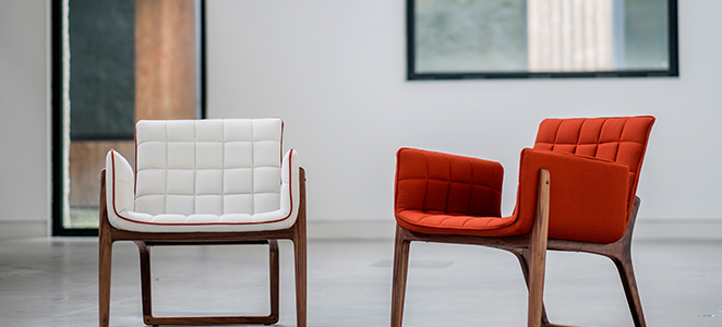 Sillón Mandarine by Two.Six / Diseñado por Claudia & Harry Washington
